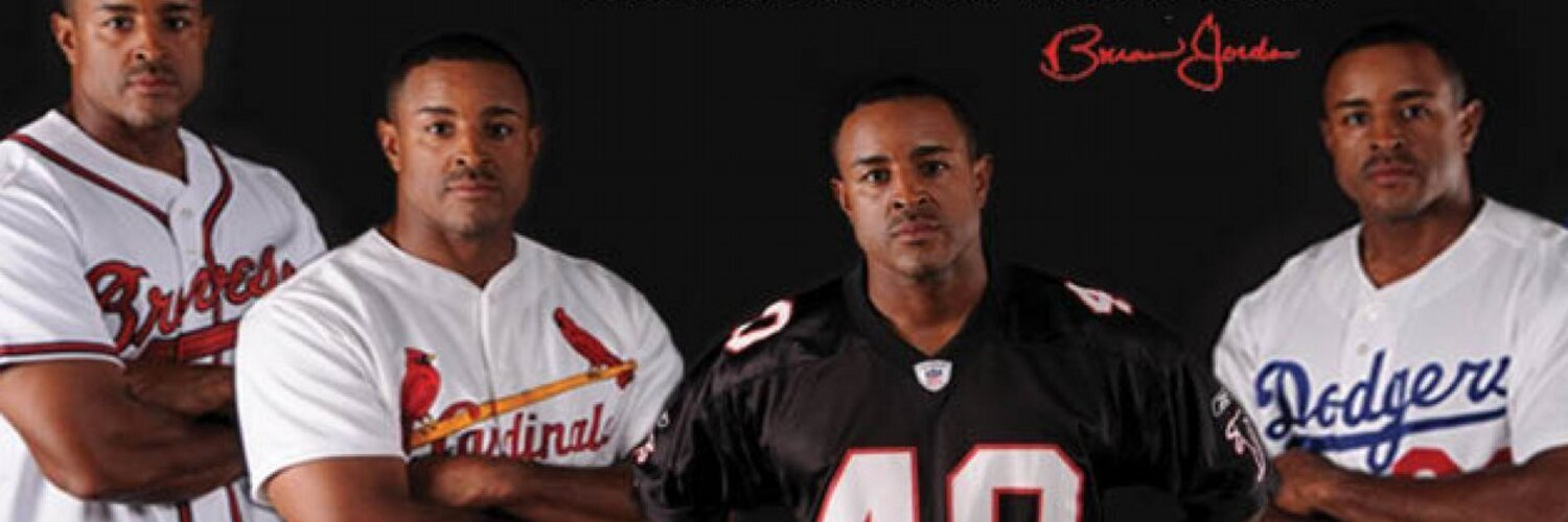 Former Atlanta Falcon & Atlanta Brave, Sports Analyst for FOX SportSouth, Owner of Game Face Apparel, GameFace Camps, and Founder of the Brian Jordan Foundation