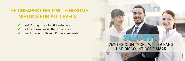 Cheap resume writer