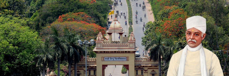 Banaras Hindu University's official Twitter account