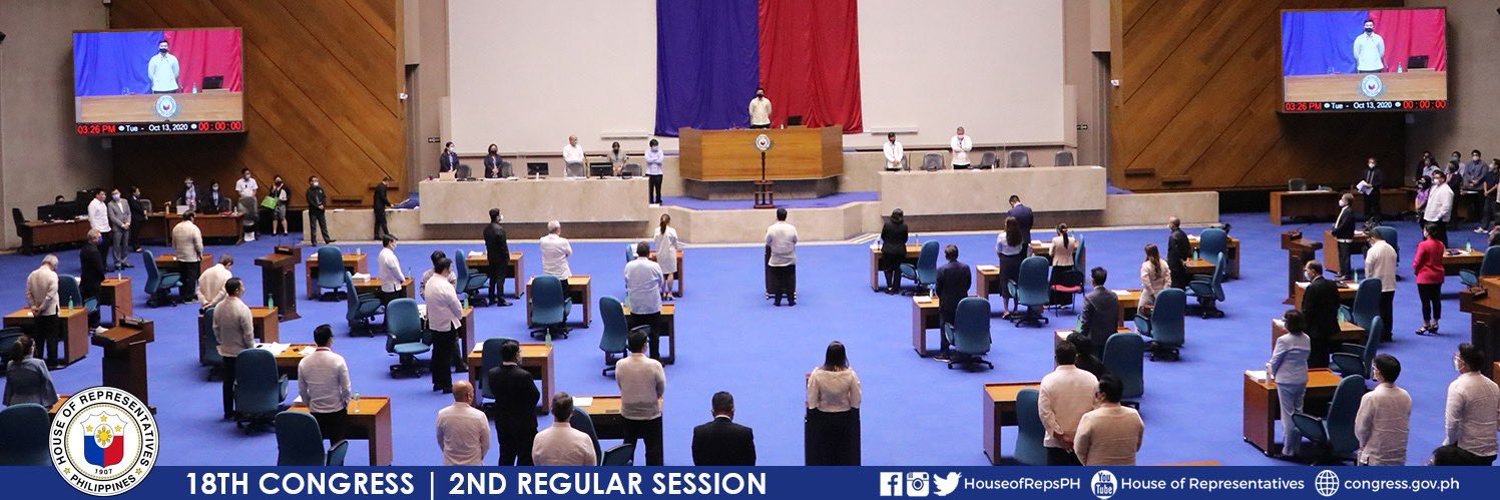 Official Twitter account of the House of Representatives of the Philippines.