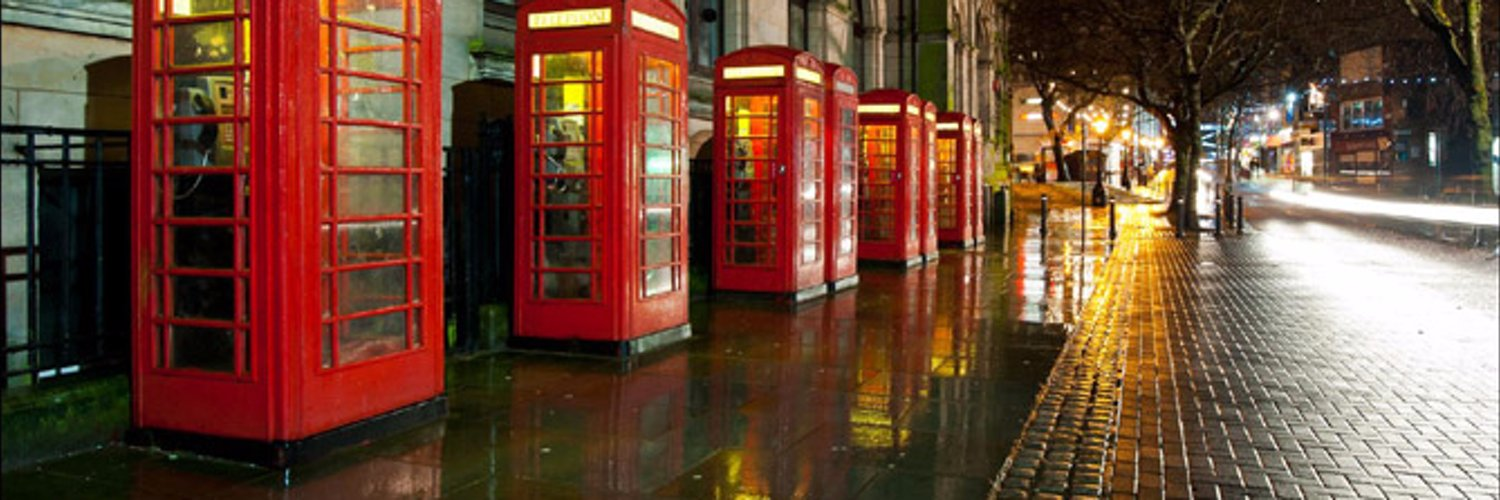 The original Preston landmark , Longest line of red phoneboxes in the world. Lover and tweeter of all things Preston #Prestoninanimateobjects