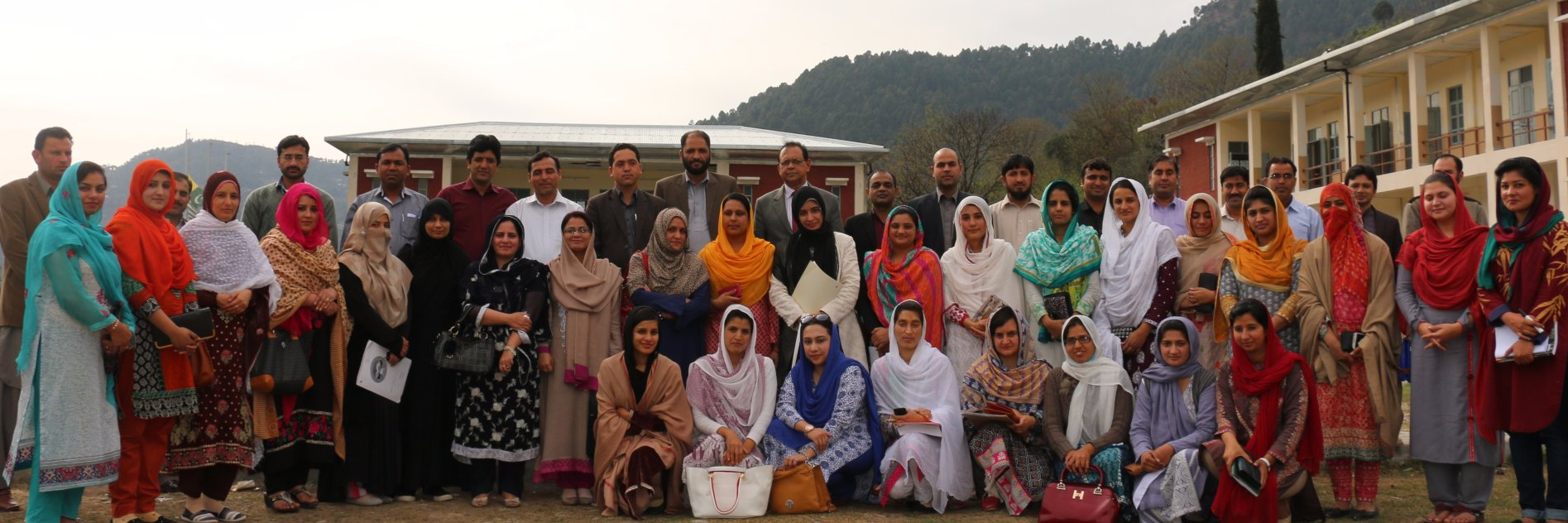 Women University of Azad Jammu and Kashmir Bagh's official Twitter account