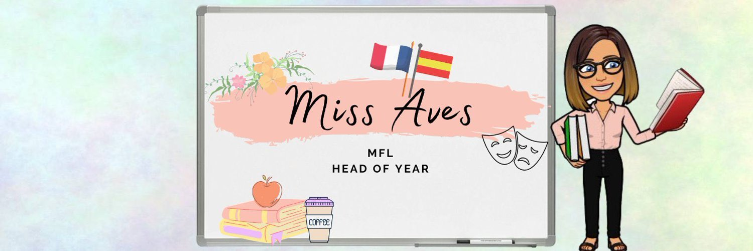 Head of Year 11 👩🏽🏫, MFL teacher 🇫🇷🇪🇸 and Performing Arts helper 🎭at Ormiston Victory. Views are my own.