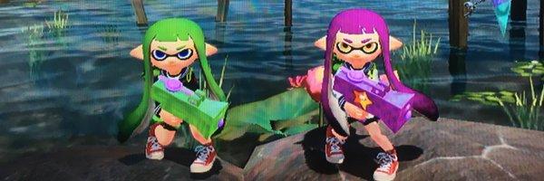 スプラトゥーンプレイヤー squid_nnss ヘッダー