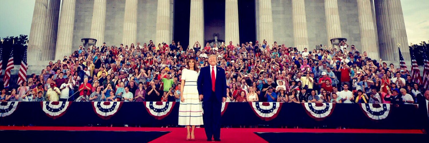@FLOTUS @NatlParkService George Washington was my 8th Uncle & it pains me to know how ashamed he would be of our current leadership in the White House.
