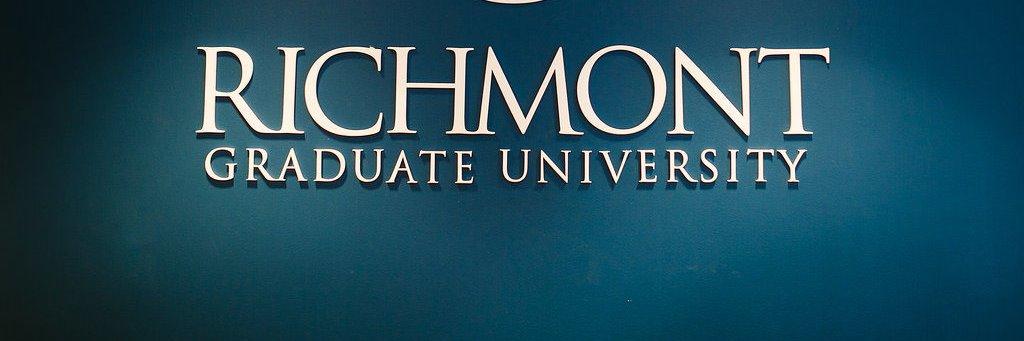 Richmont Graduate University's official Twitter account