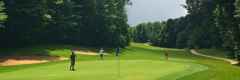 Centennial Acres #GolfCourse & Banquet Center is 27 holes of #golf and an event venue. 12485 Dow Rd, Sunfield, MI. 517-566-8055 #PureMichigan #GolfCentennial