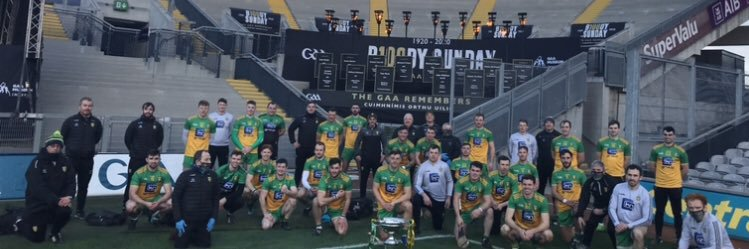 @officialdonegal will play their third @UlsterGAA senior final in three years next Sunday November 22nd https://t.co/ZBziSraF8H