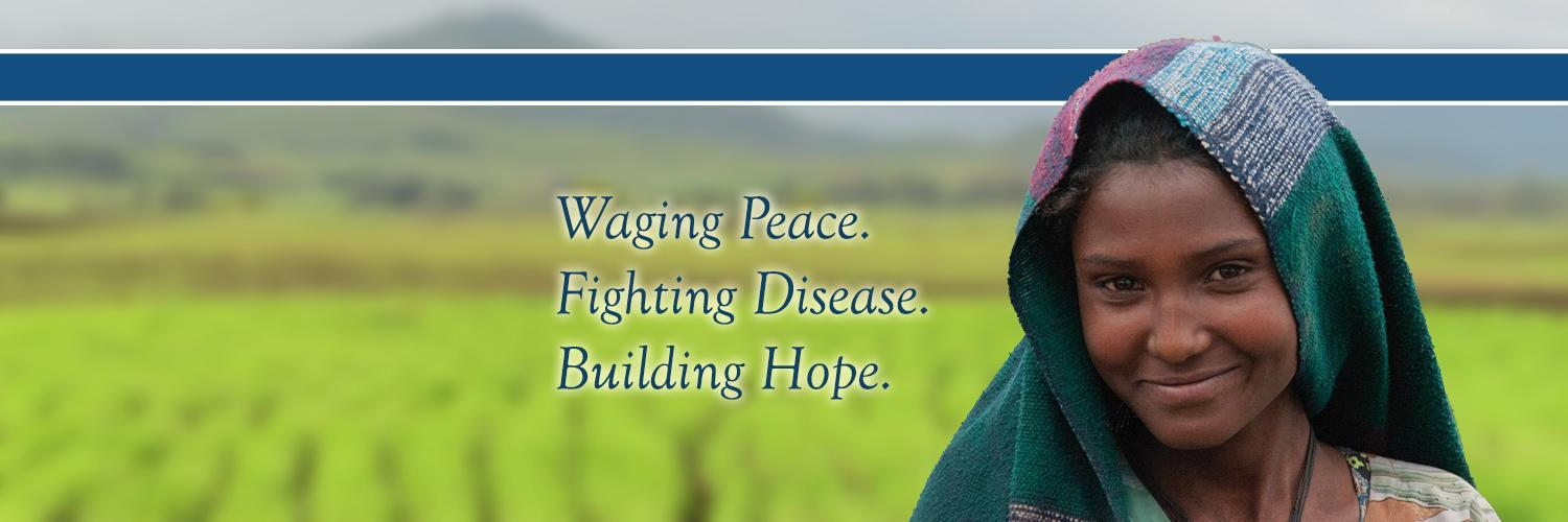 Founded in 1982 by former U.S. President Jimmy Carter & Rosalynn Carter with @EmoryUniversity, the Center wages peace, fights disease, & builds hope worldwide.
