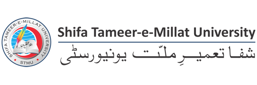 Shifa Tameer-e-Millat University's official Twitter account
