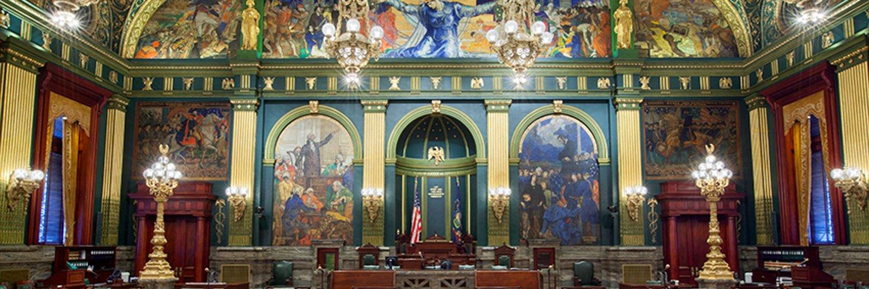 Senator Scott Martin represents PA's 13th Senatorial District and serves as Chairman of the Pennsylvania Senate Local Government Committee.