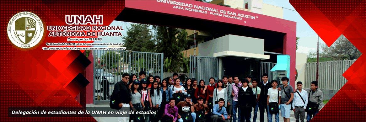 Universidad Nacional Autónoma de Huanta's official Twitter account