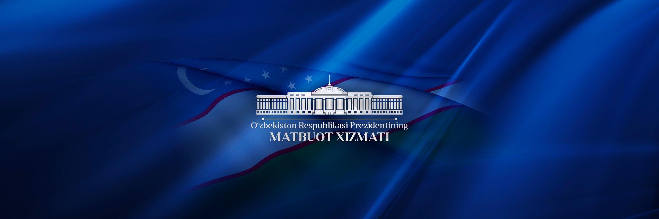 Shavkat Mirziyoyevs Press-service