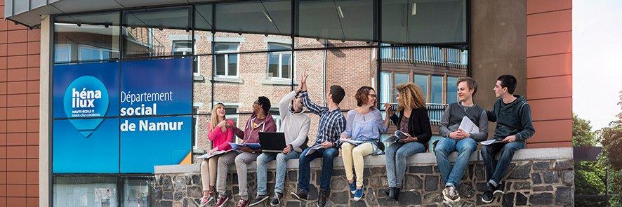 Haute École de Namur-Liège-Luxembourg's official Twitter account