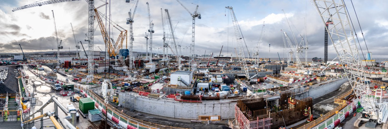Official EDF account. Keeping you up-to-date with information and news about the construction of Hinkley Point C in Somerset.