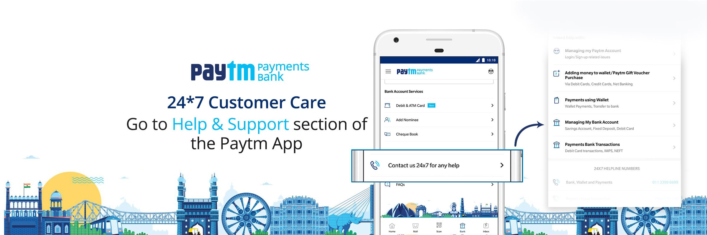 Paytm Bank Care