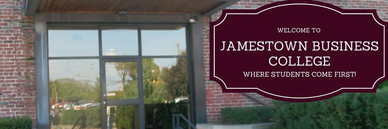 Jamestown Business College's official Twitter account