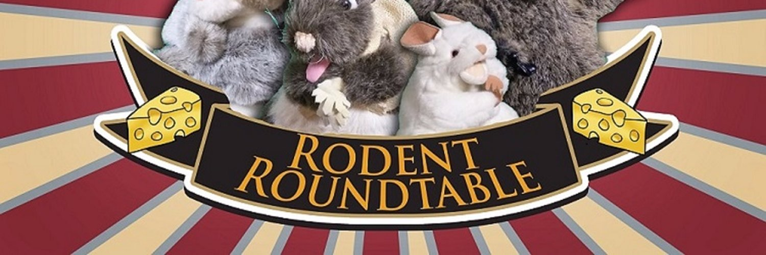 Host of the Rodent Roundtable (coming...someday, honest); friend to humans. Watch us at youtube.com/c/RodentRoundt… !
