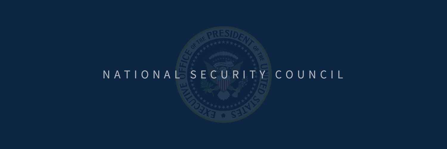 National Security Council | Tweets may be archived: WH.gov/privacy