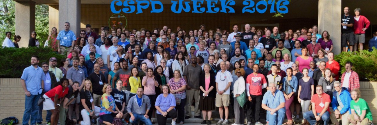 Such an honor to hear Ruthe Farmer from @CSforALL at #CSPdWeek! 'Welcome to the squad. There is a huge national com… https://t.co/Y2tmhMKswO