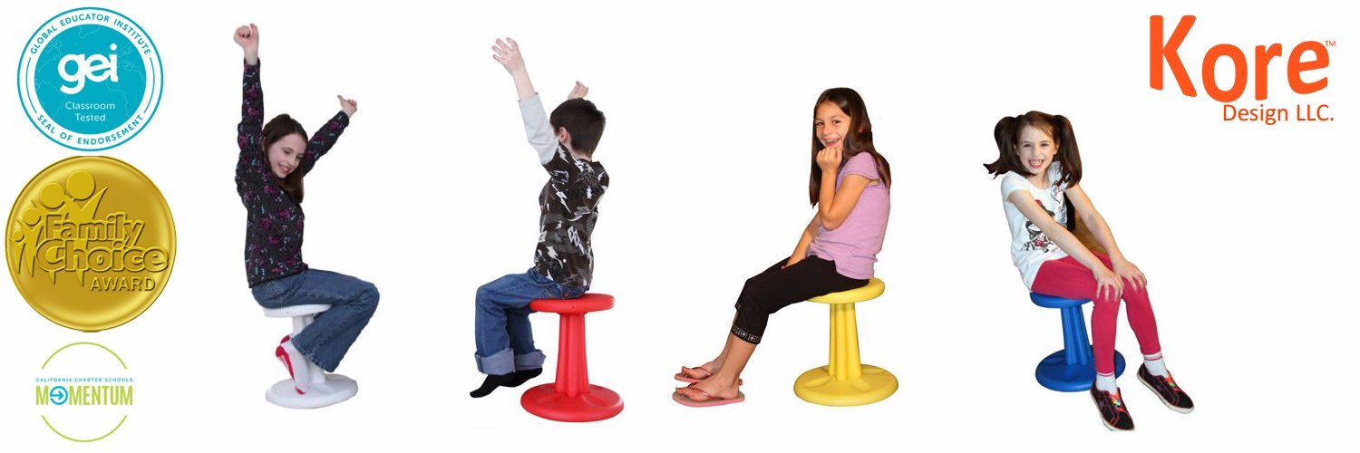 The unique Floor Wobbler™ allows children to sit comfortably on the floor and remain active in one spot. Our anti-p… https://t.co/BLwNCWUGJe
