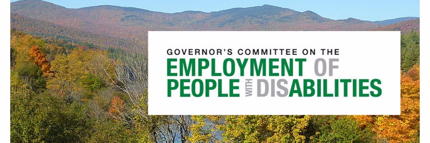 The GCEPD is a Governor's committee promoting equal employment for all VT citizens through partnerships among business, government and people with disabilities.
