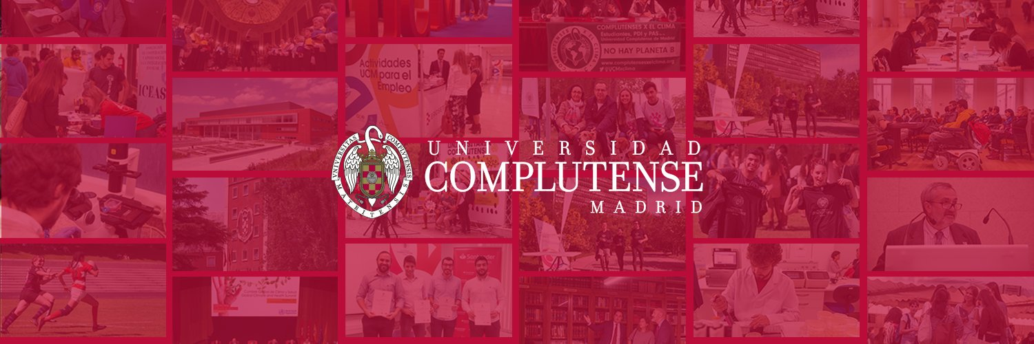 Universidad Complutense de Madrid's official Twitter account