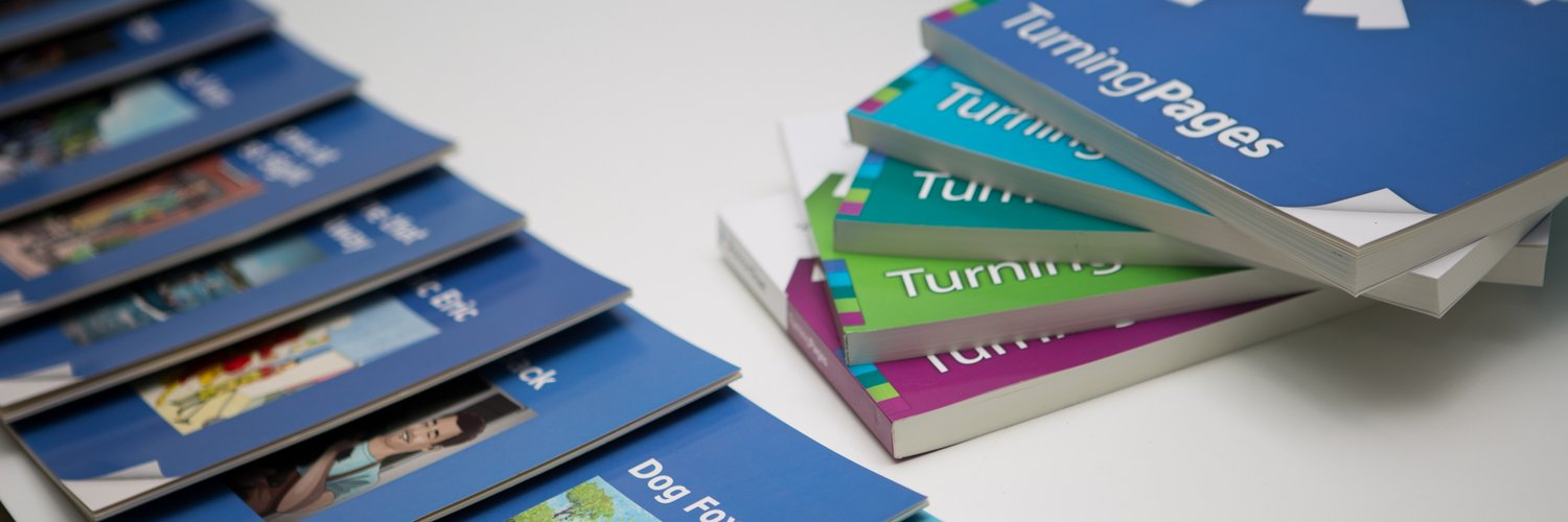 Turning Pages unlocks the power of reading. A new & easy way for adults to learn to read, at their own pace, 1 to 1, with a friend/family member or other mentor