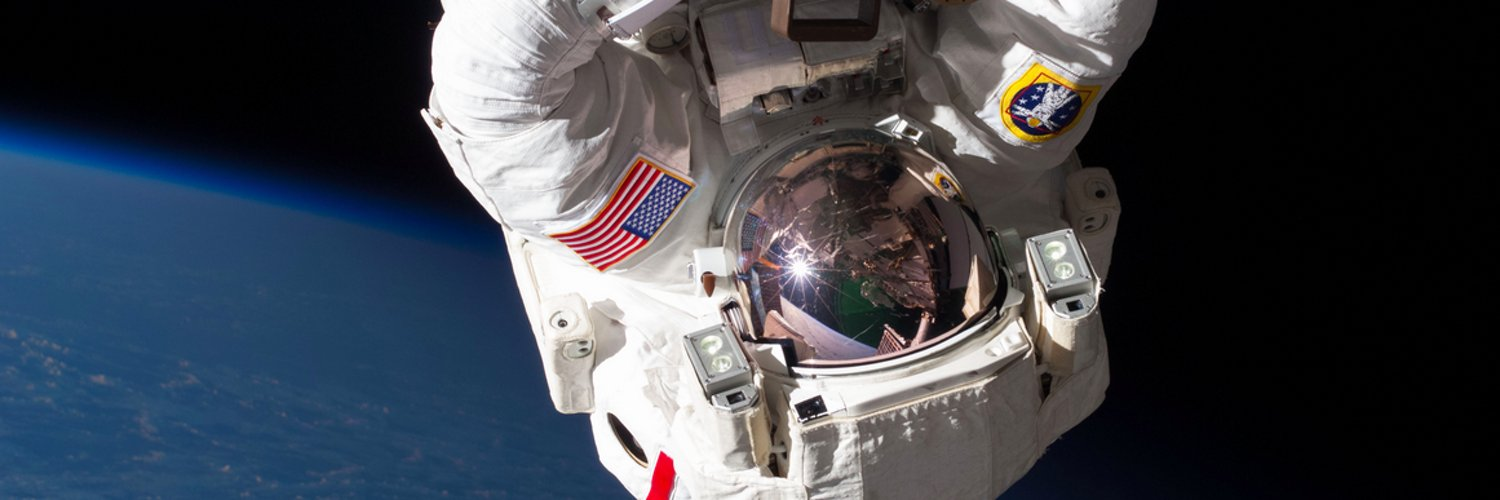 NASA Astronaut and U.S. Navy SEAL currently living aboard the International @Space_Station.