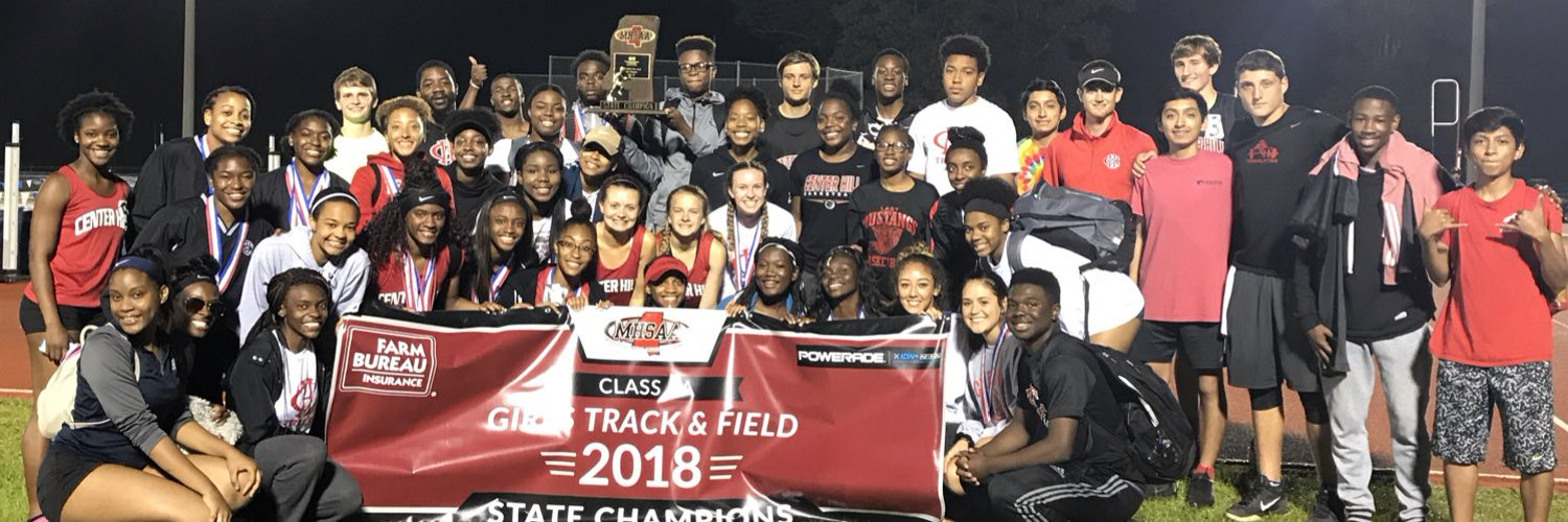The Official Twitter Feed Of Center Hill High School Boys/Girls Track & Field and XC. With News, Updates And More From The Hill. Home of the Mustangs.