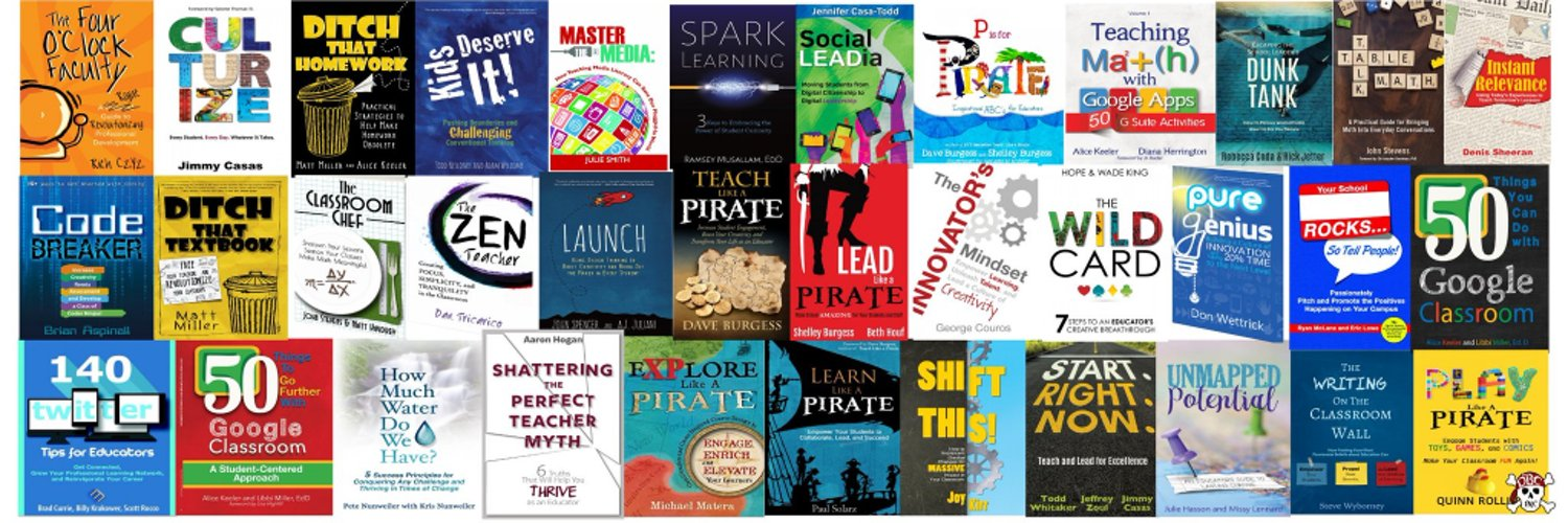 Educator, PD leader, keynote speaker, publisher, president of Dave Burgess Consulting, Inc., and NYT Best Selling author of Teach Like a PIRATE #tlap