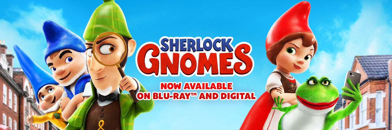 Sherlock Gnomes now on Blu-ray and Digital!
