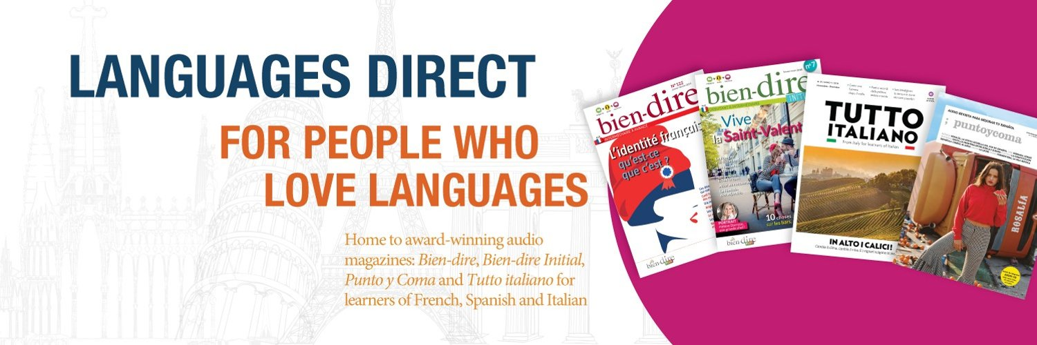HQ for Languages Direct Ltd's tweets on anything and everything to do with learning foreign languages. Sign up for our newsletter: ow.ly/J1Jk50p3W4S