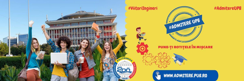Universitatea Politehnica din Bucuresti's official Twitter account
