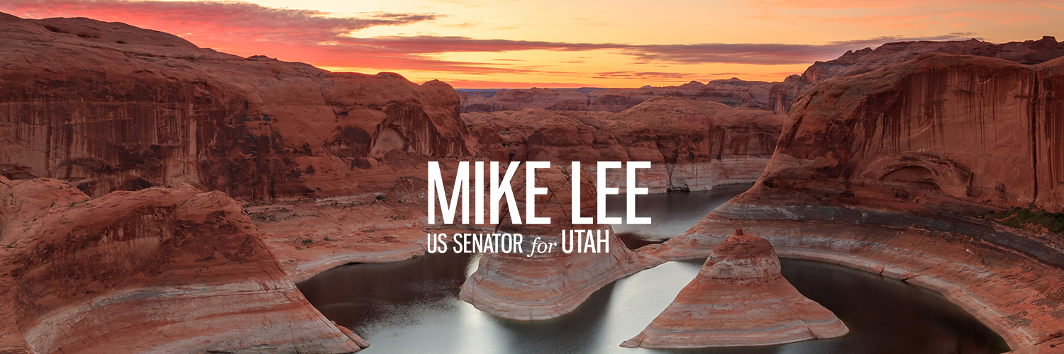 I am a United States Senator from the great state of Utah. Please help me restore constitutional leadership to Washington!