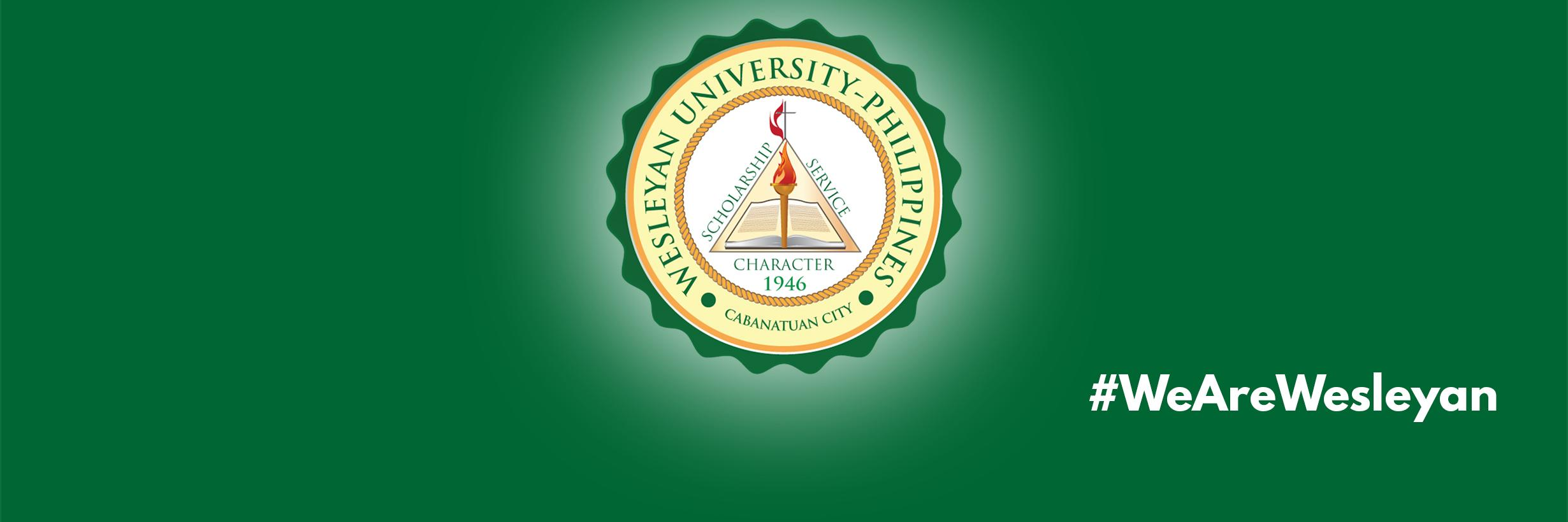 Wesleyan University-Philippines's official Twitter account