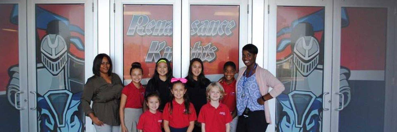 Renaissance Charter School of St Lucie, a member of the Charter Schools USA family of schools. Proud to be an A school!