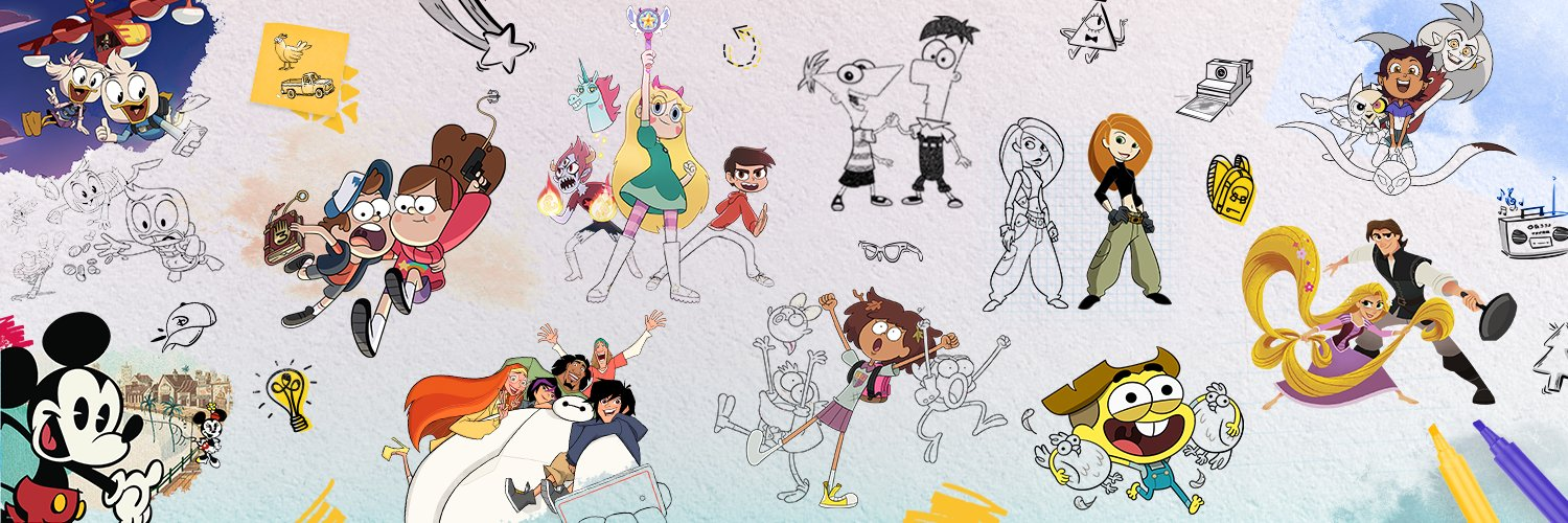 The official Twitter page of Disney Television Animation
