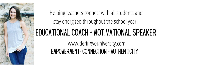 Founder of DEFINE YOUniversity I K-12 #BehaviorSpecialist I Ambassador with @TeachBetterTeam I Educational Coach + Presenter I Podcast Host