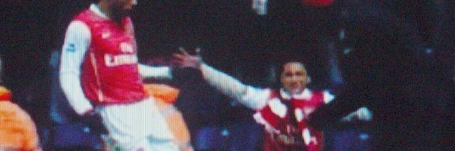 Gooner since Anfield 89! Red Army! #gooner #father