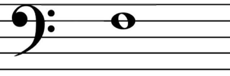 этом рецепте ноты басового ключа в картинках яйца