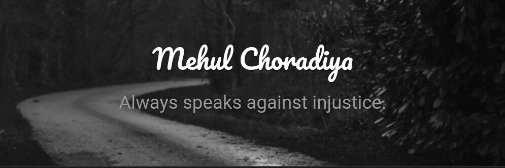 Mehul Choradiya