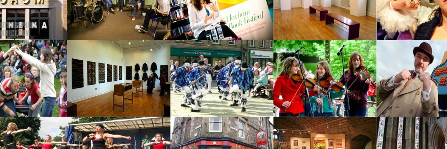 List and find Hexham gigs, films, exhibitions and more. Music, visual arts, theatre, film, literature, dance, drama, or comedy - it'll be here!