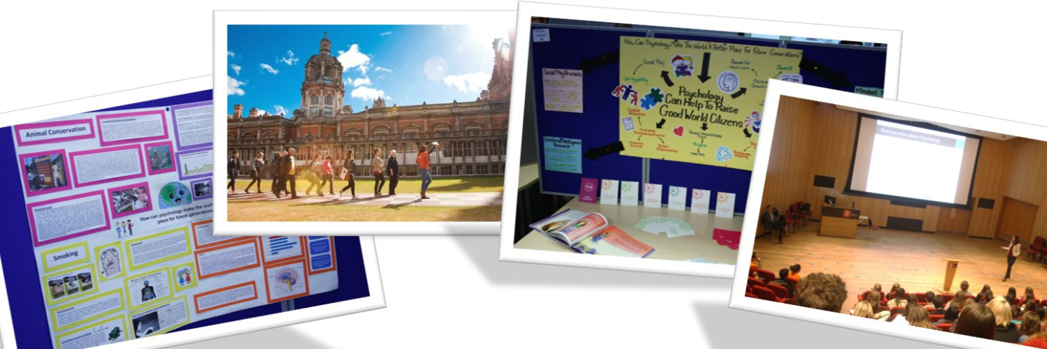 Schools outreach team from the Psychology Department at Royal Holloway. Inspiring the next generation of Psychologists through events and resources for schools!