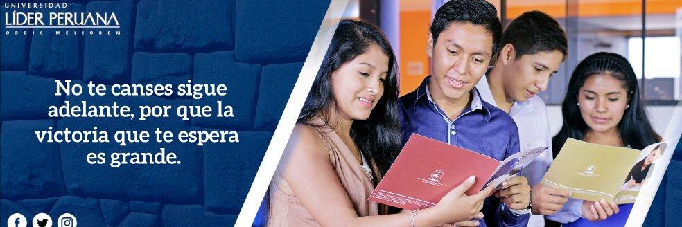 Universidad Privada Líder Peruana's official Twitter account