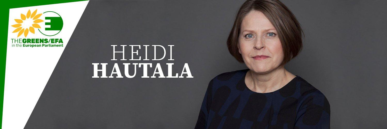 Heidi HAUTALA Eurodeputata del Parlamento Europeo