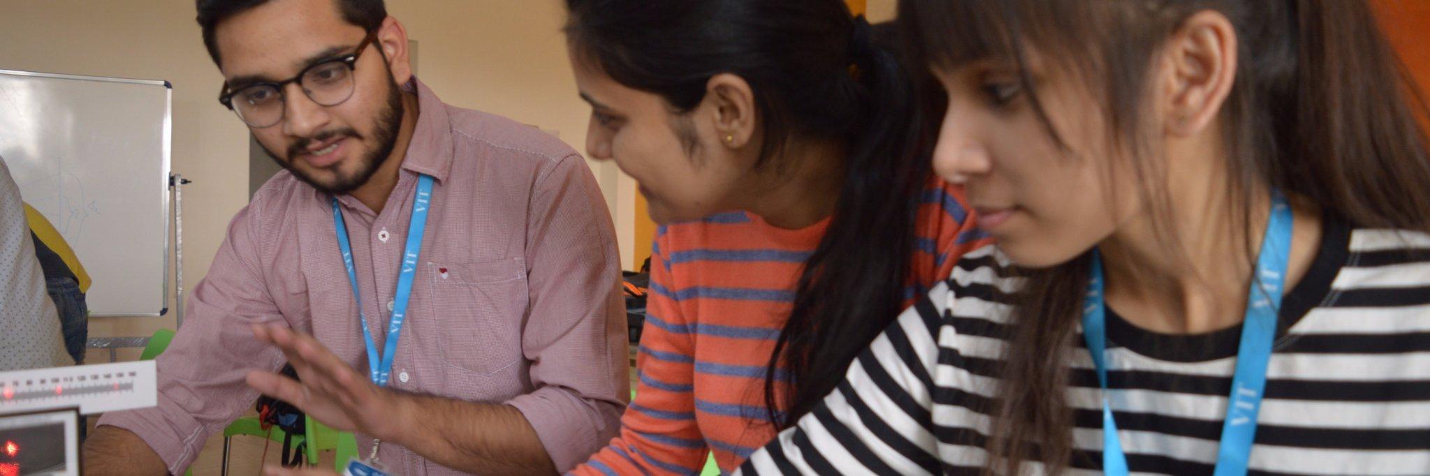 VIT Bhopal University's official Twitter account