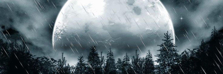 ночь дождь луна картинки помещение кассы
