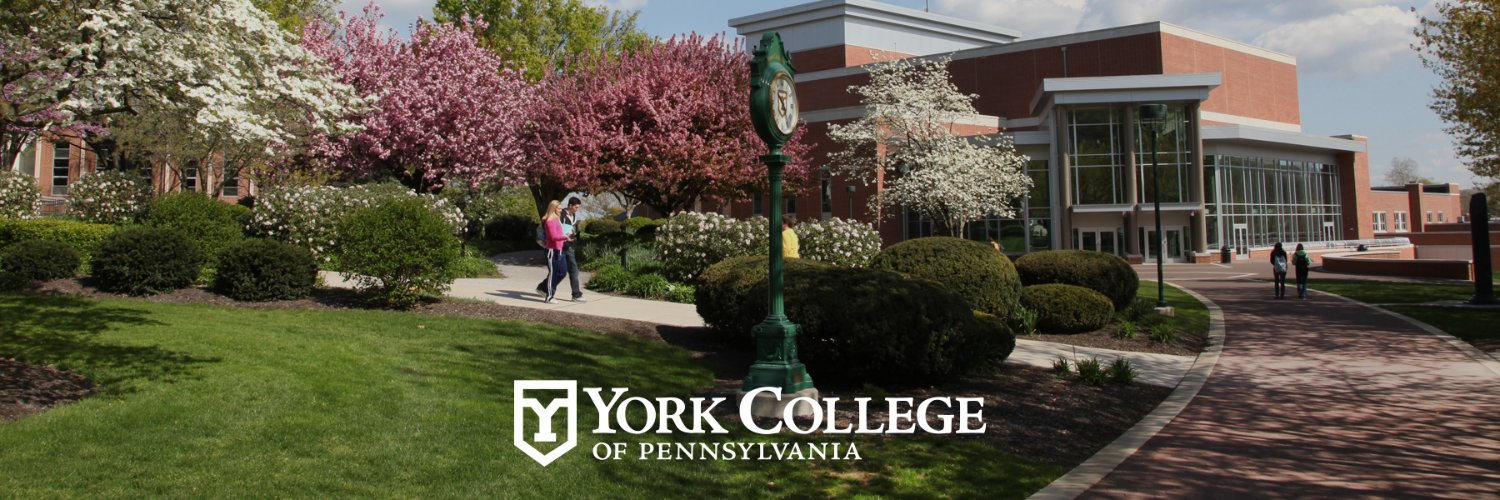 York College of Pennsylvania's official Twitter account