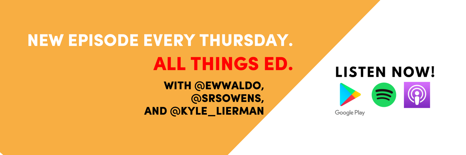 Three former Obama staffers bringing you education stories from the swamp and across the country. Hosts @Kyle_Lierman, @srsowens & @ewwaldo.